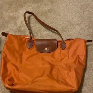 Long champ lepliage large tote